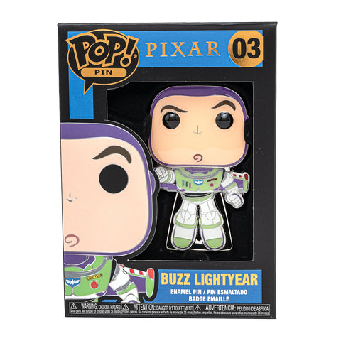Pixar Toy Story Buzz Lightyear Funko Pop! Pin