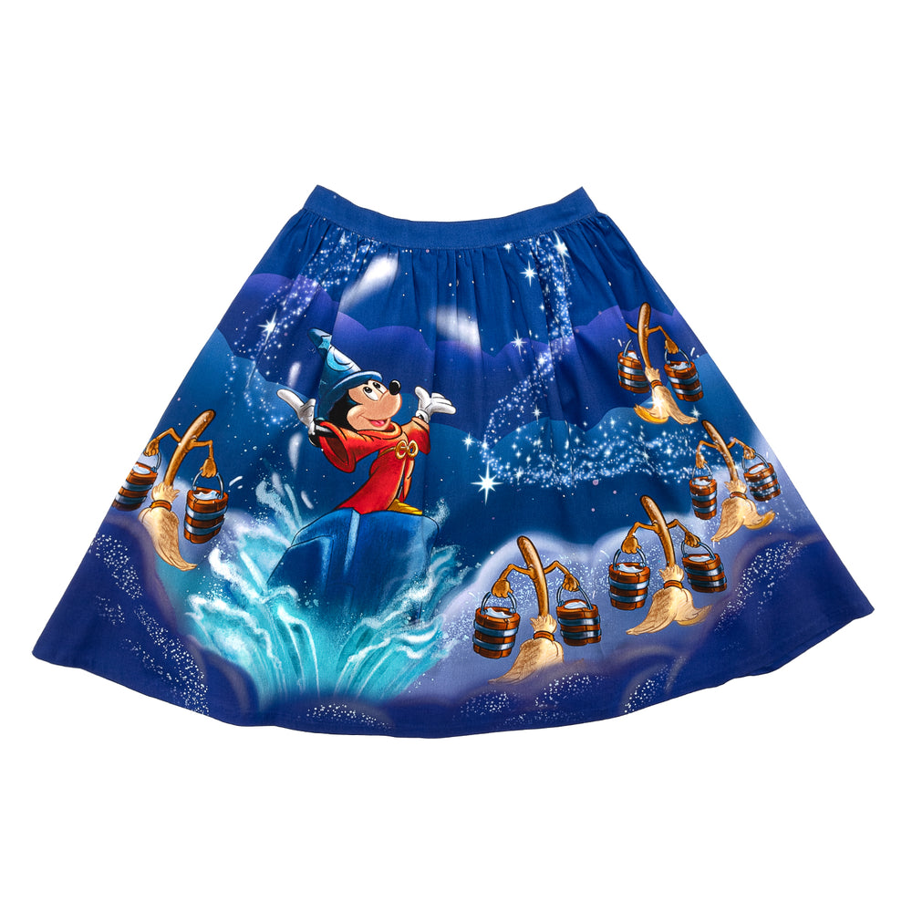 "Disney Stitch Shoppe Fantasia Sorcerer's Apprentice ""Sandy"" Skirt-zoom"
