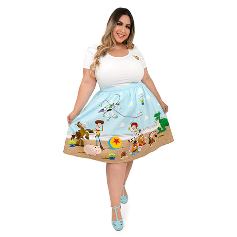 "Pixar Toy Story Friends ""Sandy"" Skirt"