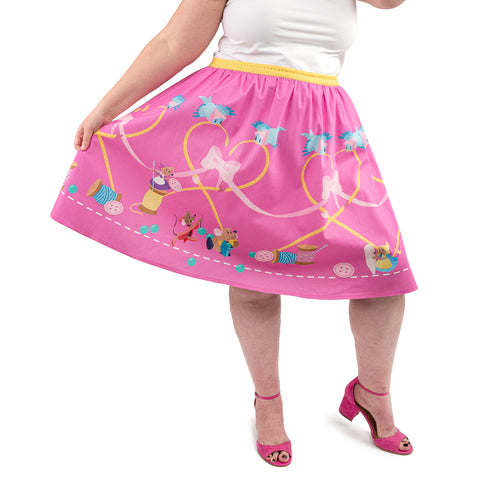 "Disney Stitch Shoppe Cinderella ""Sandy"" Skirt"