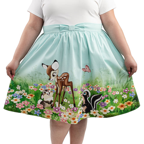 "Disney Stitch Shoppe Bambi ""Sandy"" Skirt Front Model View"