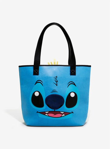 Loungefly X Disney Stitch And Scrump Tote Bag