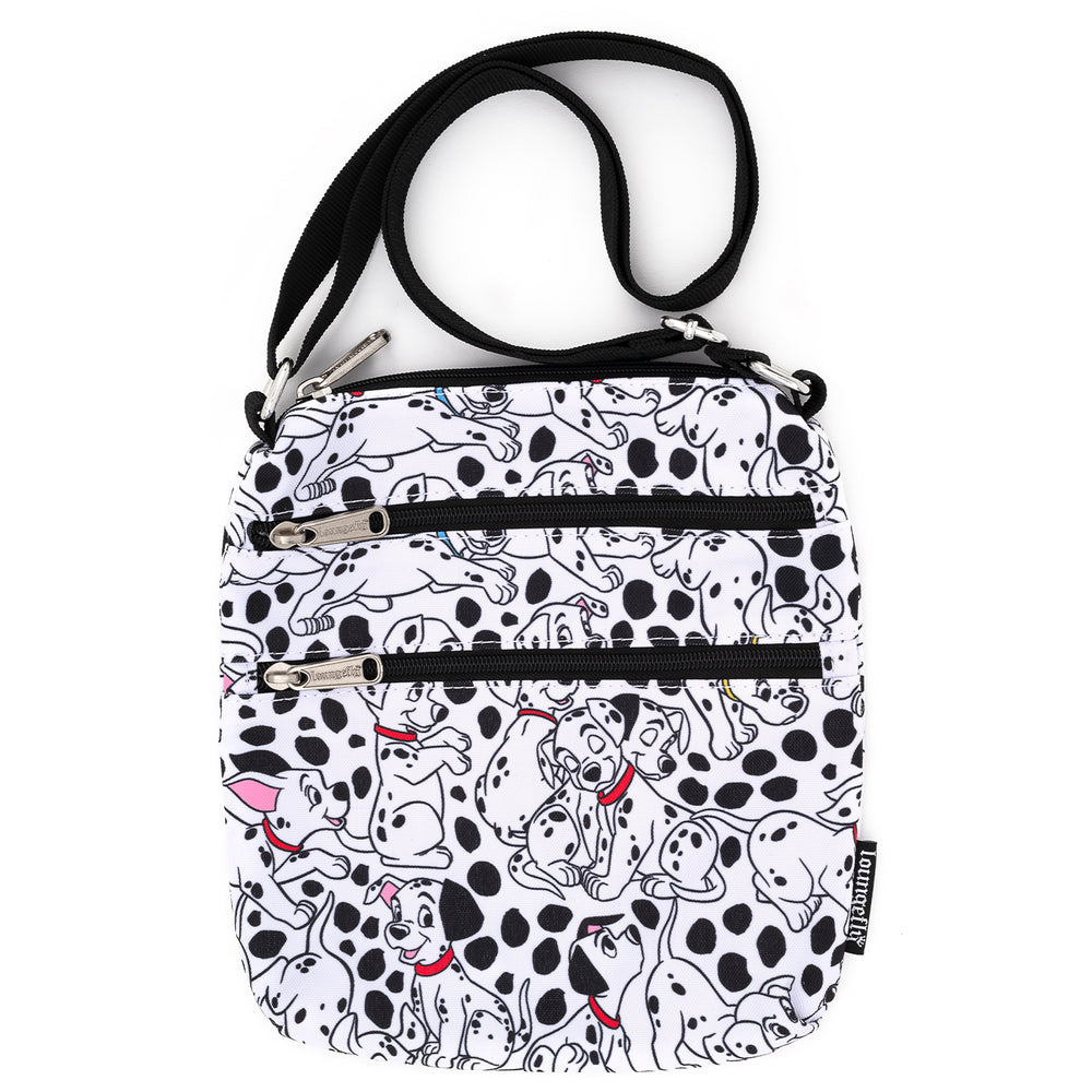 Loungefly X Disney 101 Dalmatians AOP Nylon Passport Bag-zoom