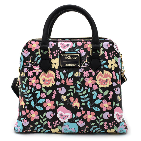 Loungefly X Disney Alice in Wonderland Flowers AOP Cross Body Bag