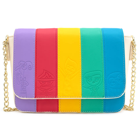 Loungefly X Pixar Inside Out Mixed Emotions Cross Body Bag