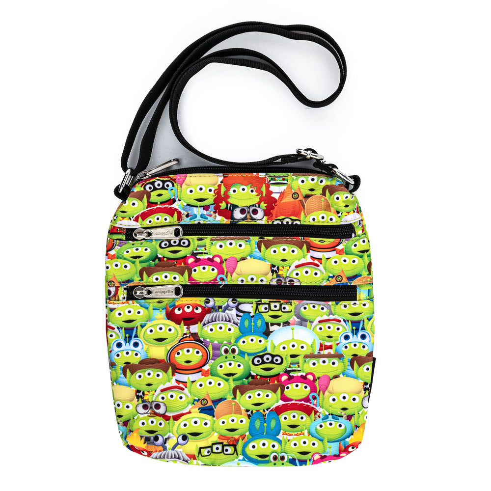 Pixar Toy Story Alien Outfits AOP Nylon Passport Bag-zoom