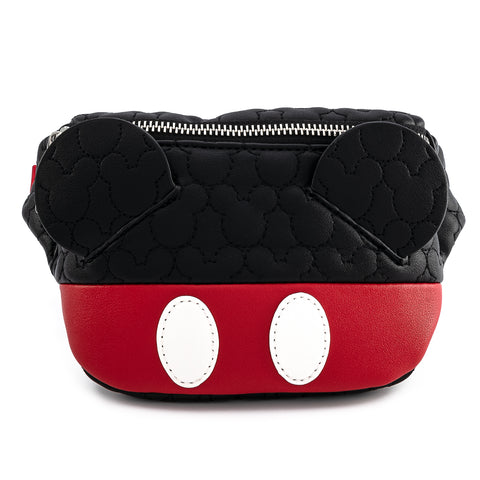 Loungefly X Disney Mickey Mouse Quilted Cosplay Fanny Pack