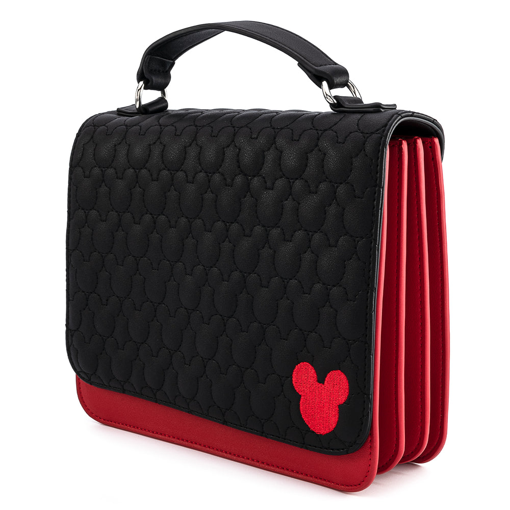 Disney Mickey Mouse Quilted Cosplay Crossbody Bag-zoom