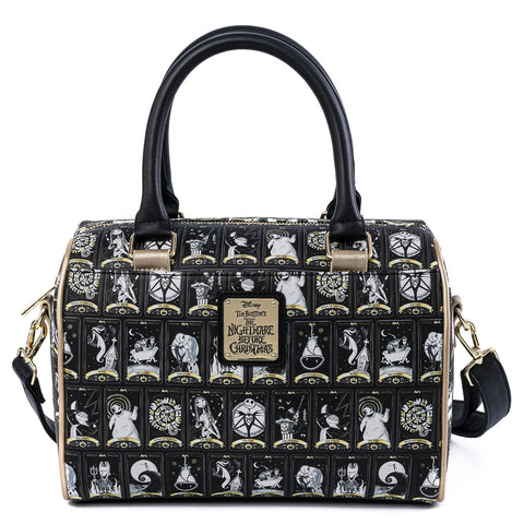 Loungefly X Disney The Nightmare Before Christmas Tarot Card Duffle Cross Body Bag