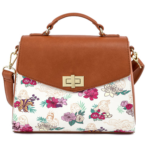 Disney Princess Floral AOP Crossbody Bag