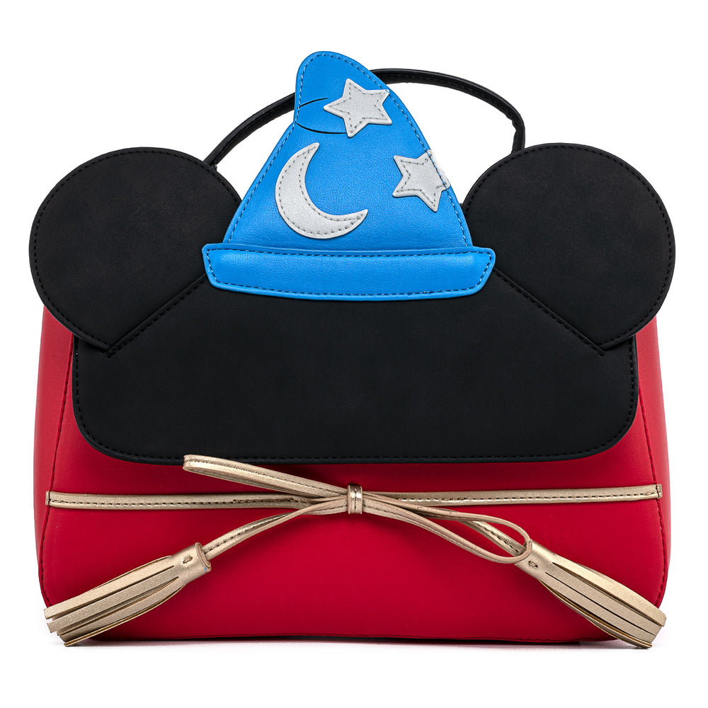 Disney Fantasia Sorcerer Mickey Mouse Cosplay Crossbody Bag-zoom