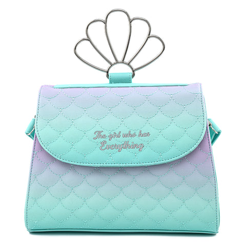 Disney The Little Mermaid Ombre Crossbody Bag