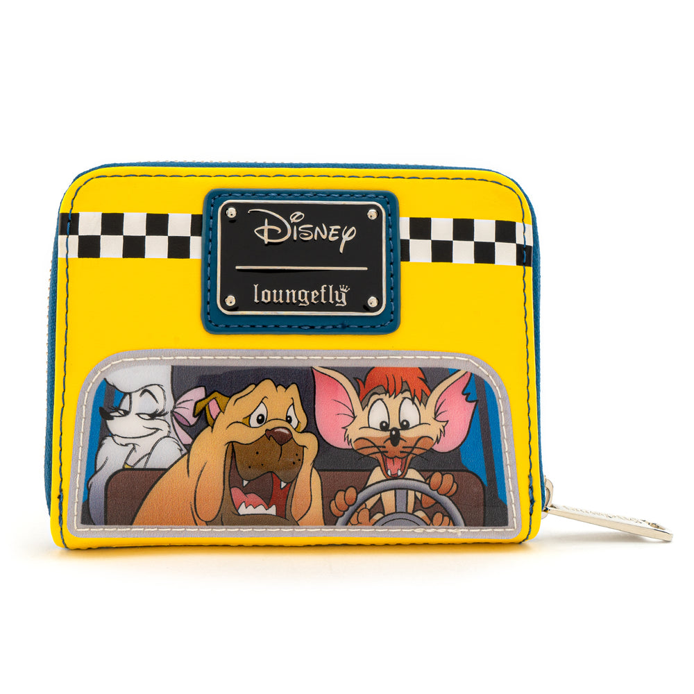 Loungefly X Disney Oliver and Company Taxi Ride Zip Around Wallet-zoom