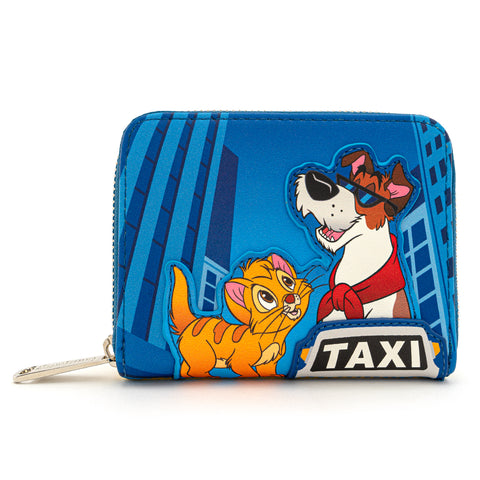 Loungefly X Disney Oliver and Company Taxi Ride Zip Around Wallet