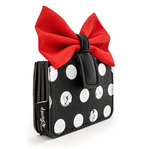 Loungefly X Minnie Mouse Big Red Bow Card Holder