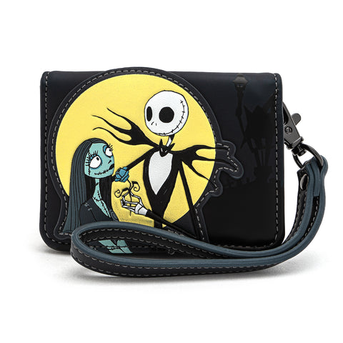 Loungefly X Disney The Nightmare Before Christmas Simply Meant To Be Wristlet Wallet
