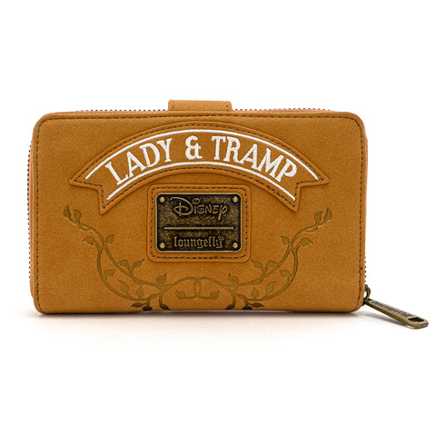 Loungefly X Disney The Lady And The Tramp Scenic Wallet Loungefly Com
