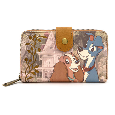 Loungefly X Disney The Lady and The Tramp Scenic Wallet