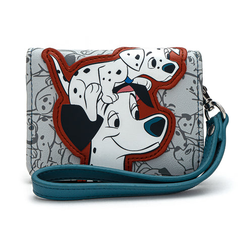 Loungefly X Disney 101 Dalmatians All The Puppies Wristlet Wallet