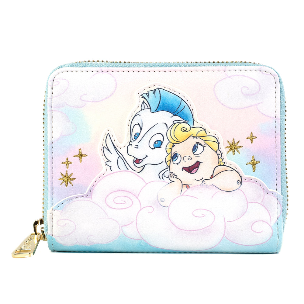 Disney Hercules Baby Herc and Pegasus Zip Around Wallet-zoom