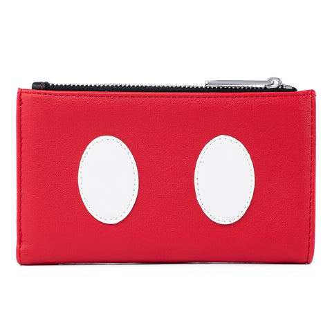 Loungefly X Disney Mickey Mouse Quilted Cosplay Flap Wallet