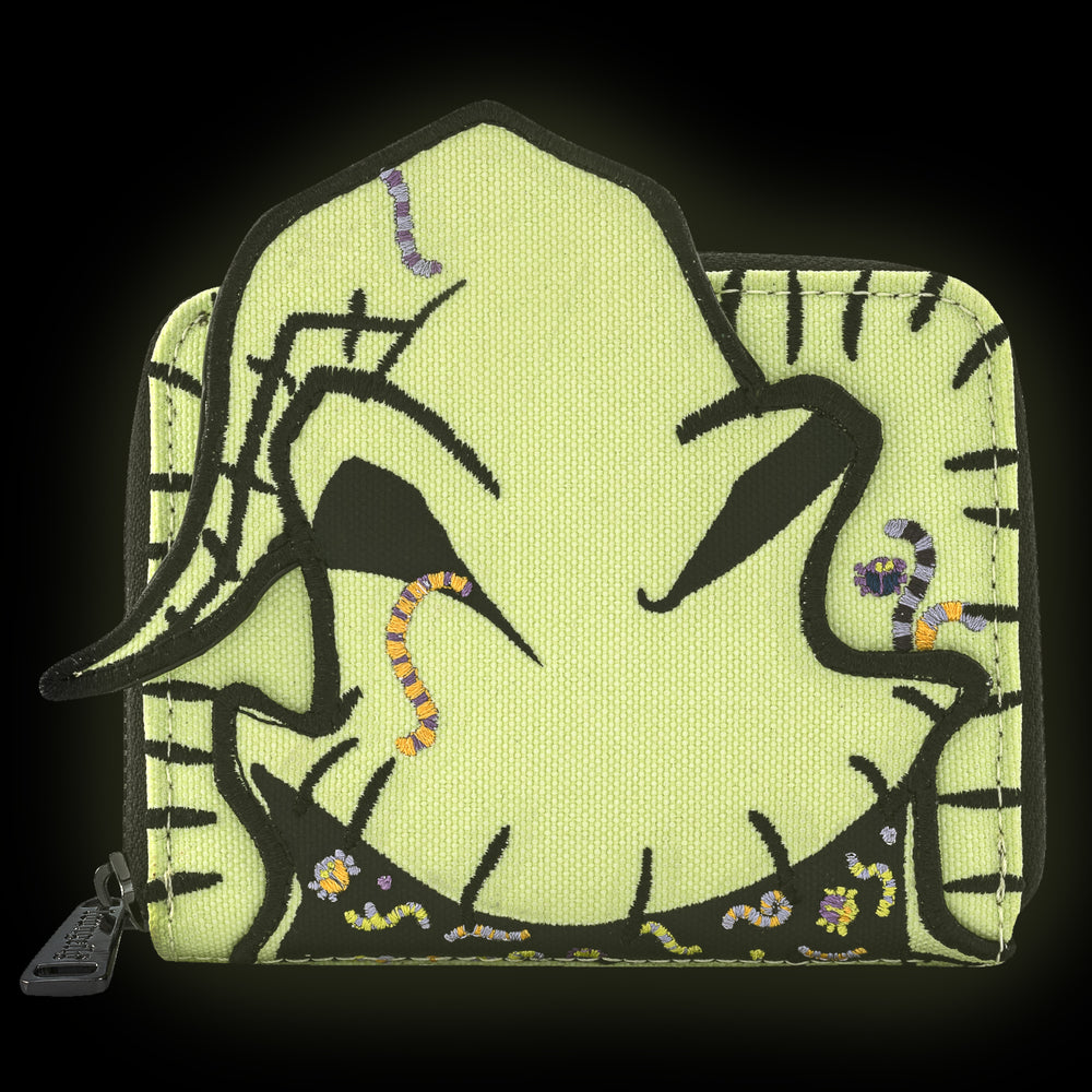 Disney The Nightmare Before Christmas Oogie Boogie Zip Around Wallet-zoom