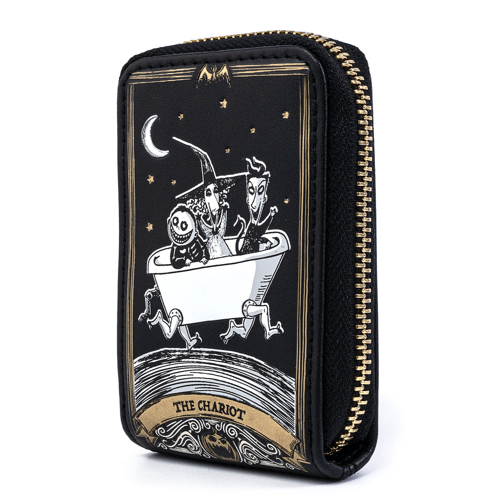 Loungefly X Disney The Nightmare Before Christmas Tarot Card Accordion Wallet-zoom