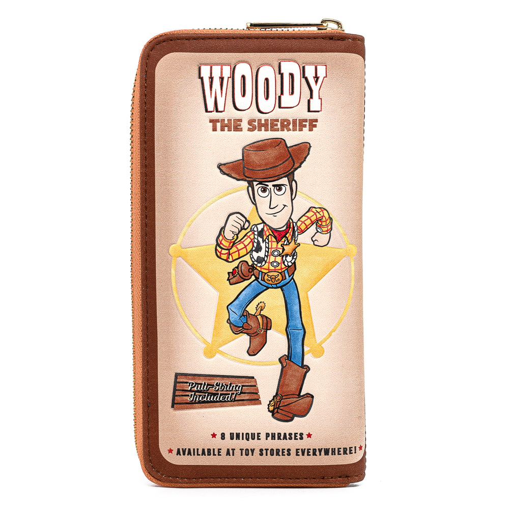 Pixar Toy Story Buzz & Woody 25th Anniversary Exclusive Zip Around Wallet-zoom