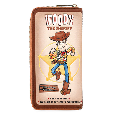 Pixar Toy Story Buzz & Woody 25th Anniversary Exclusive Zip Around Wallet