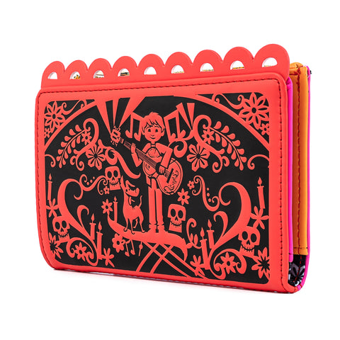 Pixar Coco Die Cut Party Flags Wallet