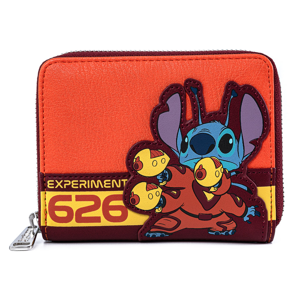 Disney Lilo & Stitch Experiment 626 Cosplay Zip Around Wallet-zoom