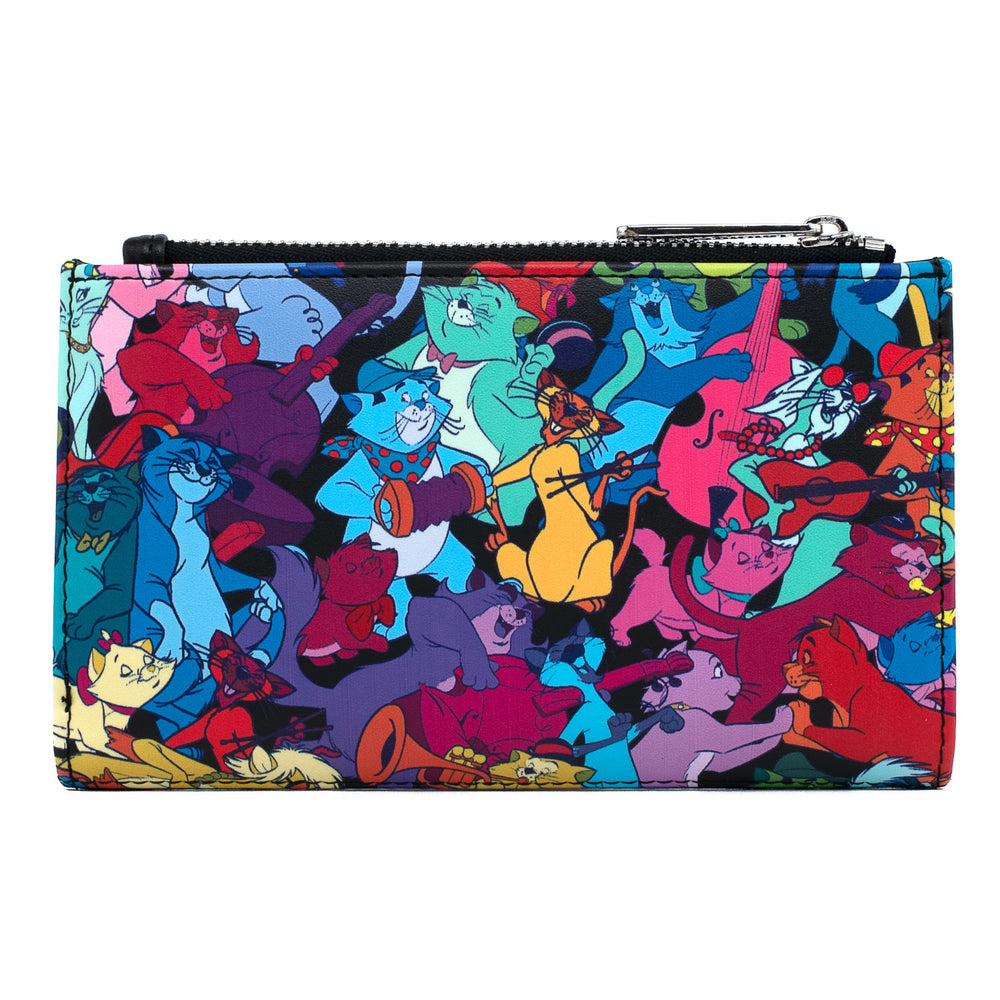 Disney Aristocats Jazzy Cats Flap Wallet-zoom