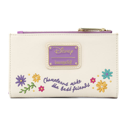 Disney Tangled Pascal Flower Flap Wallet