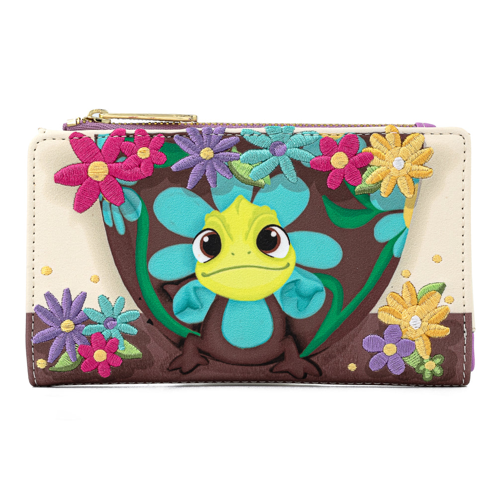Disney Tangled Pascal Flower Flap Wallet-zoom