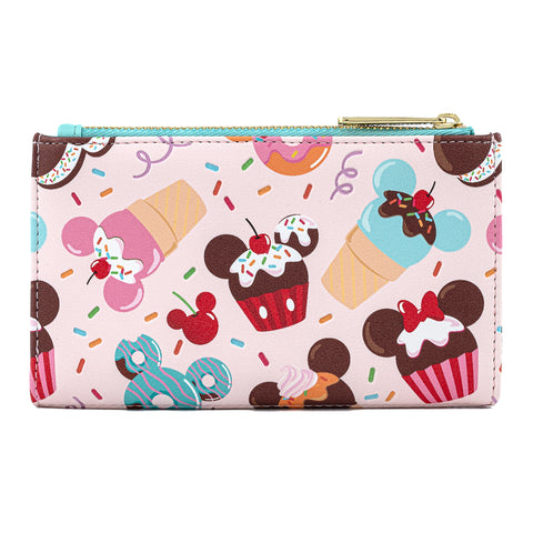 Disney Mickey & Minnie Mouse Sweet Treats Flap Wallet