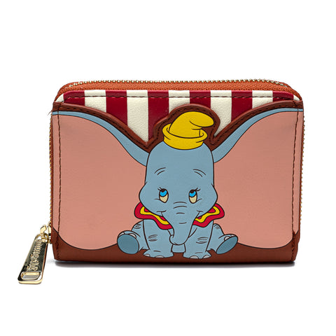 Disney Dumbo Circus Zip Around Wallet