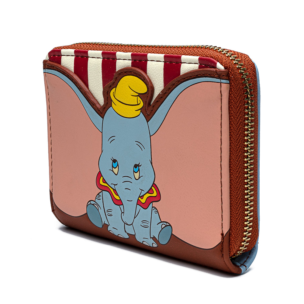Disney Dumbo Circus Zip Around Wallet-zoom