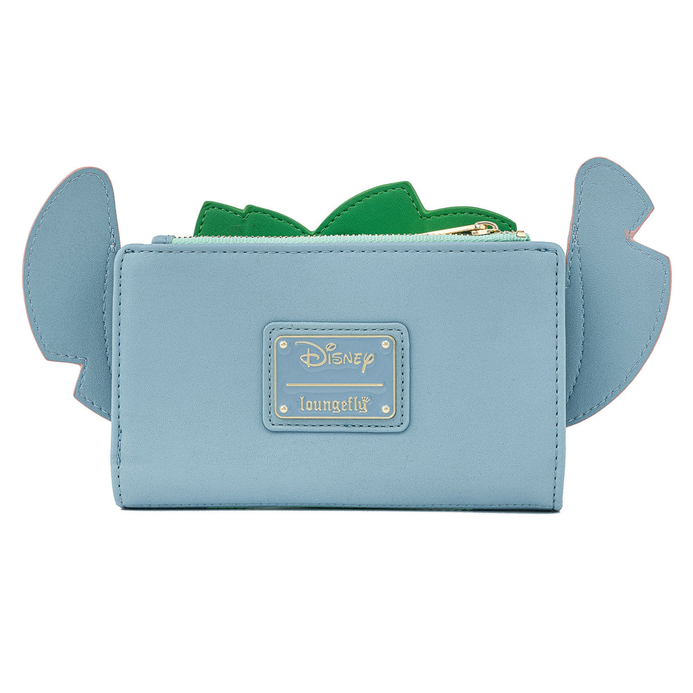 Disney Lilo & Stitch Hula Cosplay Flap Wallet-zoom