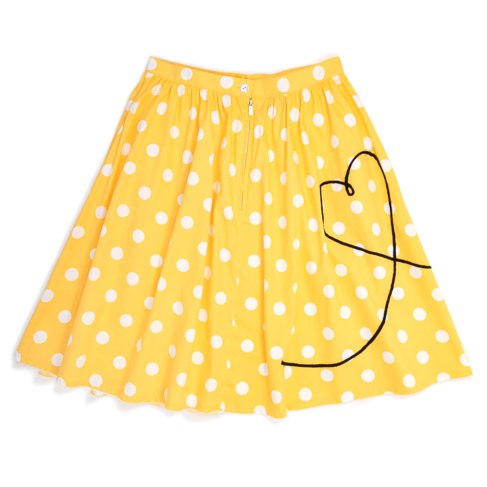 "Disney Stitch Shoppe Minnie Mouse Balloon Dot ""Sandy"" Skirt-zoom"