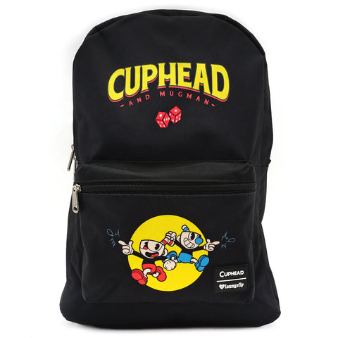 Loungefly x Cuphead Deal with the Devil Backpack