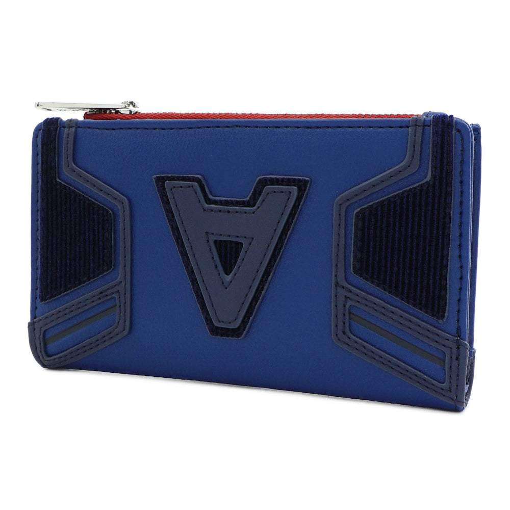 Marvel Captain America A Logo Flap Wallet-zoom