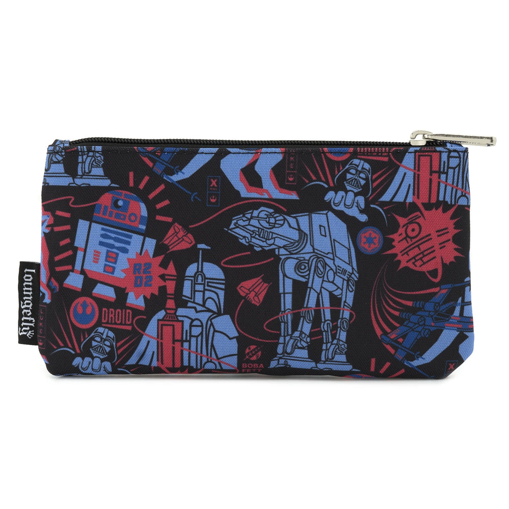 LOUNGEFLY X STAR WARS EMPIRE STRIKES BACK 40TH ANNIVERSARY NYLON POUCH-zoom