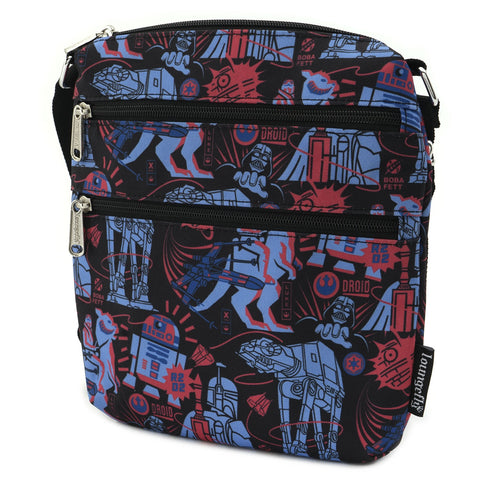 LOUNGEFLY X STAR WARS EMPIRE STRIKES BACK 40TH ANNIVERSARY PASSPORT BAG