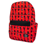 LOUNGEFLY X DISNEY MICKEY MOUSE PARTS AOP NYLON BACKPACK
