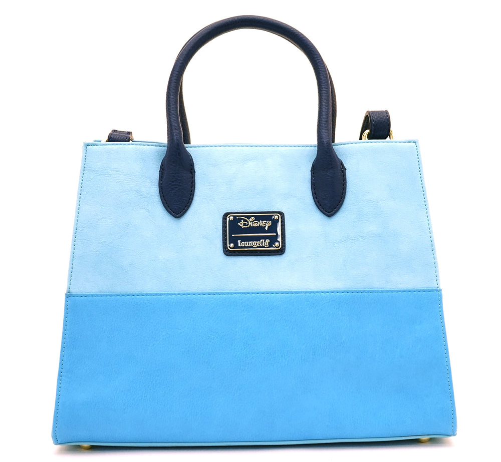 Loungefly x Stitch Chenille Tote Bag-zoom