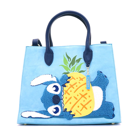 Loungefly x Stitch Chenille Tote Bag