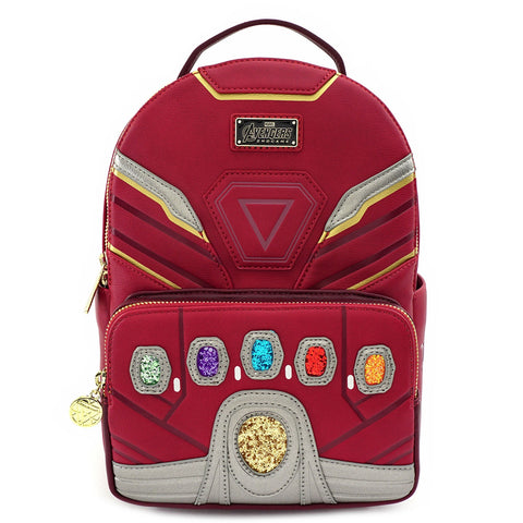 LOUNGEFLY X MARVEL IRON MAN IRON GAUNTLET MINI BACKPACK