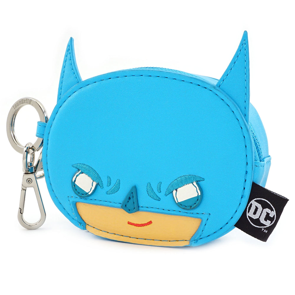 Loungefly x DC Comics Batman Chibi Coin Bag-zoom