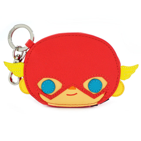 Loungefly x DC Comics The Flash Chibi Coin Bag