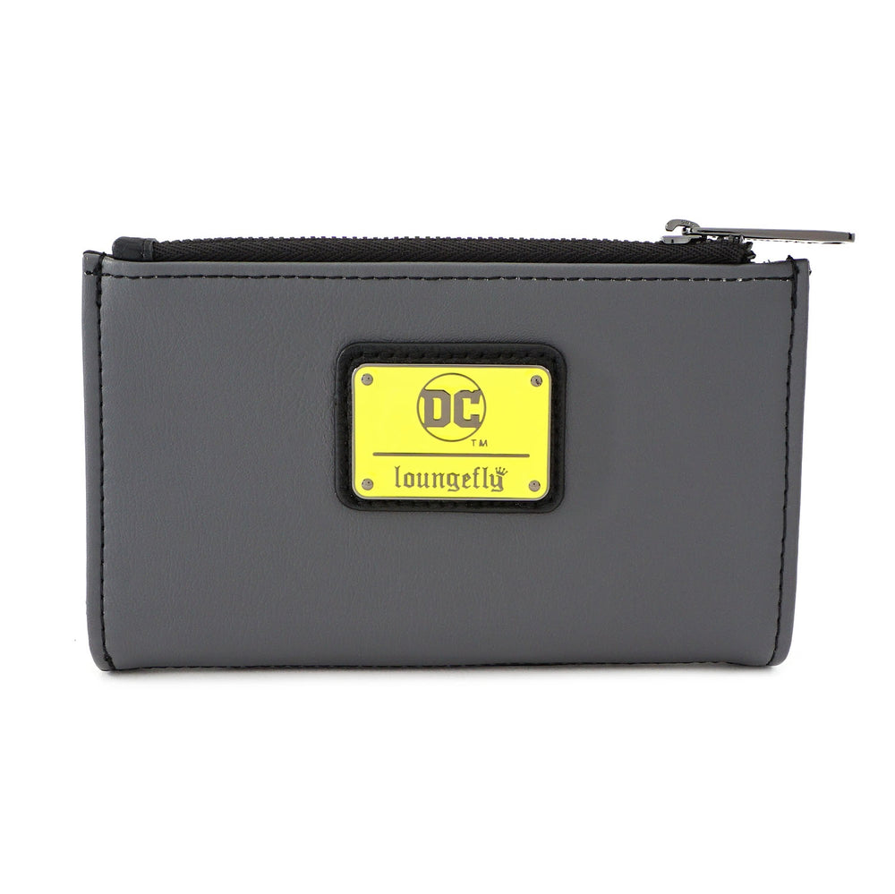 LOUNGEFLY X DC COMICS BATMAN 80TH ANNIVERSARY CITY SIGNAL FLAP WALLET-zoom